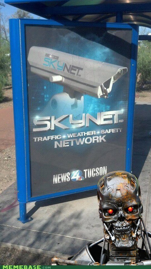 Memes,skynet,terminator,traffic,weather