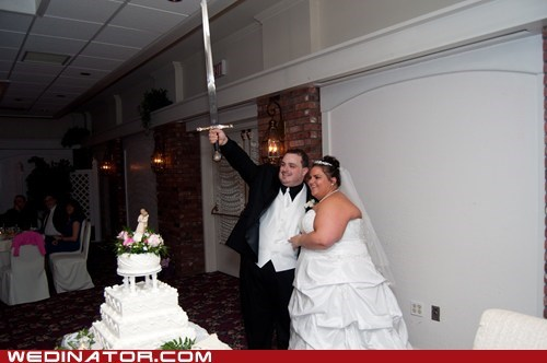 cake sword cake cutting - 6223061760