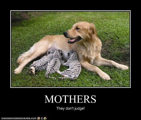 MOTHERS They don't judge!