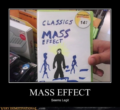 classic hilarious mass effect seems legit - 6224210688