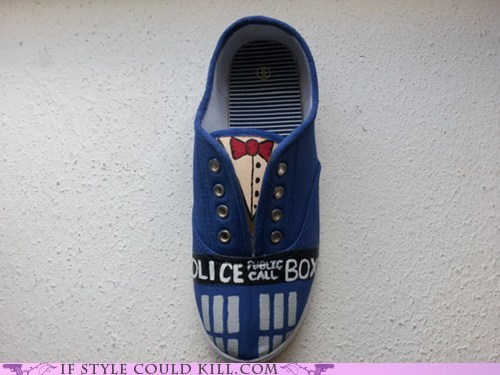 crazy shoes doctor who sneakers - 6224368128