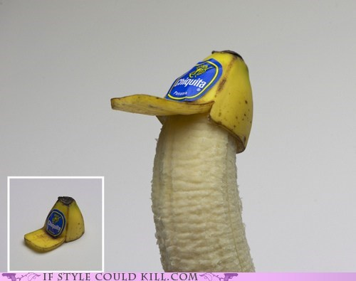 bananas cool accessories food fruit hats - 6224374784
