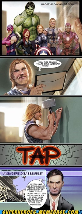 Awesome Art cute redecorating strong Thor - 6224597504