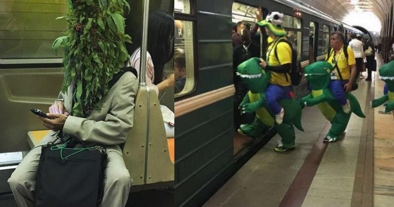 Cringe Subway Rides