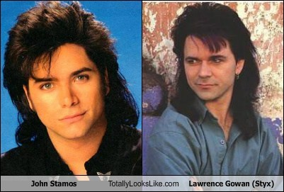 actor,celeb,funny,john stamos,lawrence gowan,Music,styx,TLL