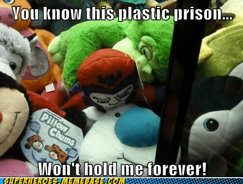 claw game Magneto plastic prison Super-Lols - 6225746176