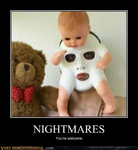 baby horrible mask nightmares Terrifying - 6225747712