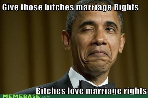 marriage Memes obama rights - 6225845248