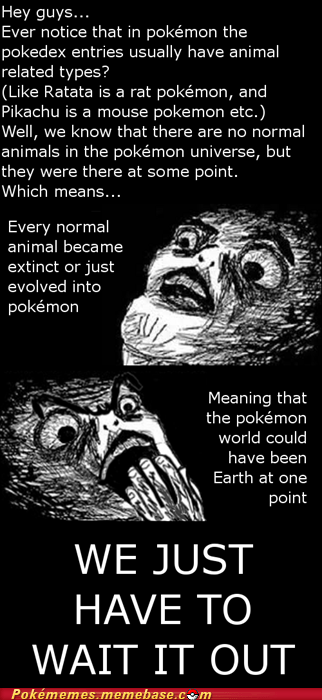earth pokedex Pokémon wait it out