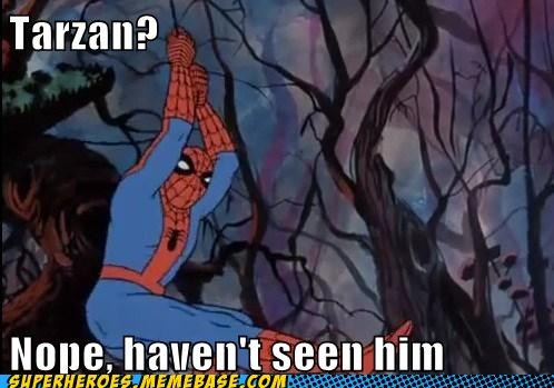jungle Spider-Man Super-Lols tarzan - 6226228992