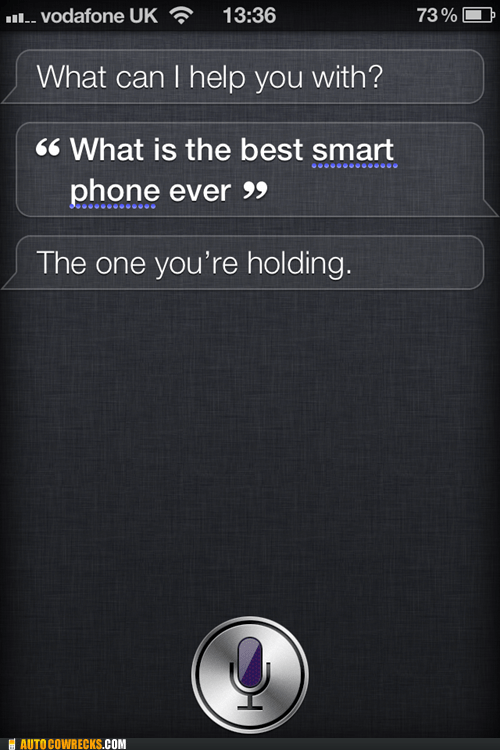 best smart phone,self esteem,siri,the-one-youre-holding