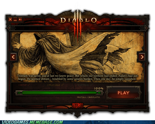 awesome cant-wait diablo diablo III install PC predownload