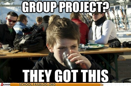 group project,lazy primary school stude,lazy primary school student,they got this