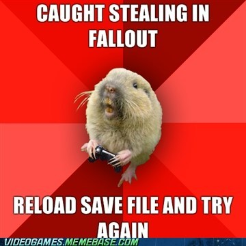 fallout gaming gopher meme save file stealing - 6226683904