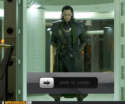 AutocoWrecks,g rated,loki,slide to unlock,slide to unlocki,The Avengers