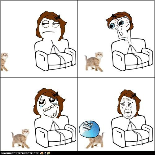 annoying Cats comics i liked Memes ok petting Rage Comics Sad - 6226708224