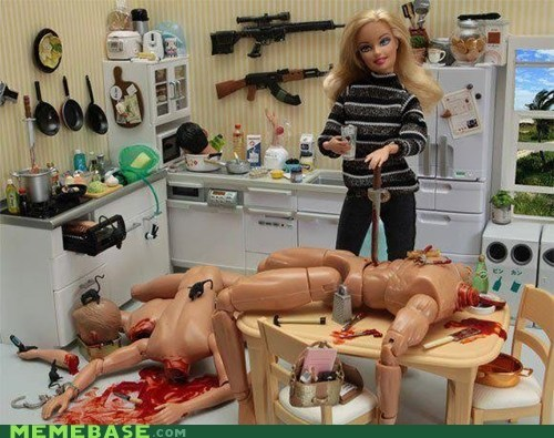 Barbie,best of week,murder,revenge,toy,wtf