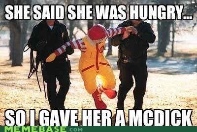 Memes McDonald's food hungry hamburger - 6226823168