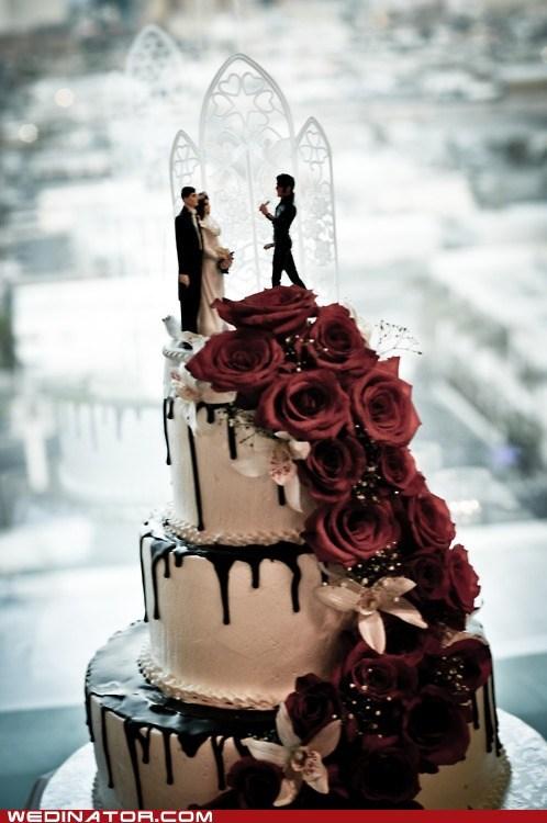 cake Elvis funny wedding photos wedding toppers - 6226840832