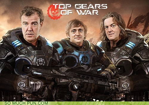 combination Gears of War Hall of Fame juxtaposition literalism top gear - 6226843392