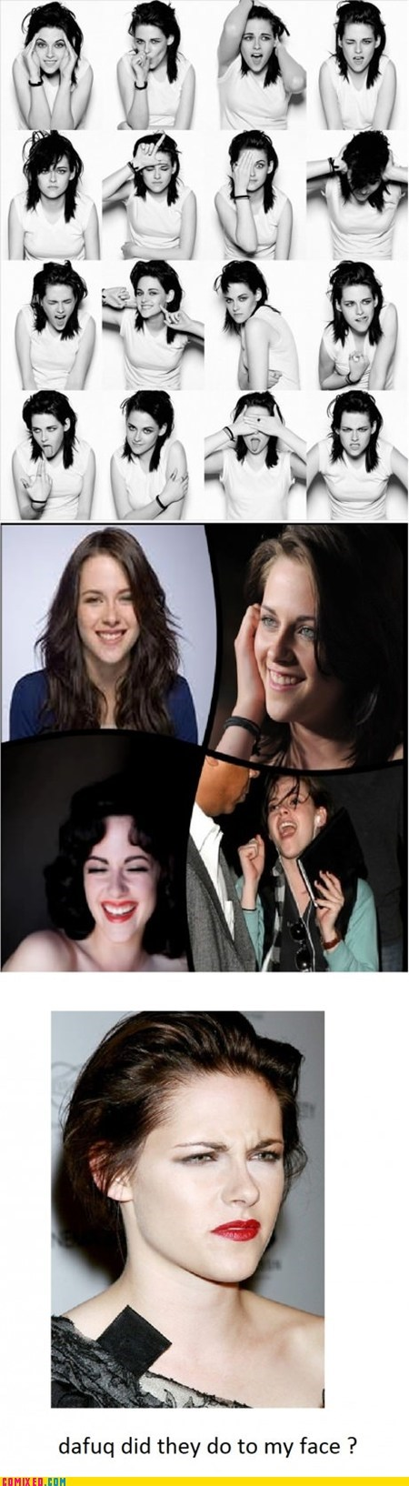 dafuq kristen stewart smiling the internets twilight