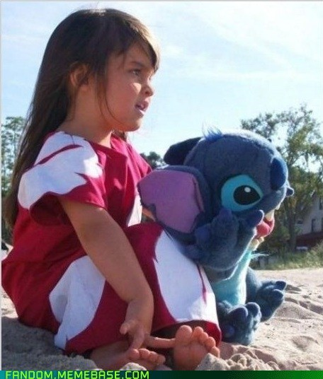 cosplay cute disney kids lilo and stitch - 6227034368