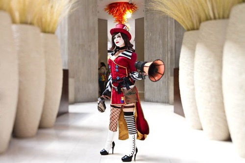 borderlands cosplay mad moxxi video games - 6227057152