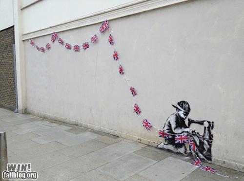banksy child labor graffiti hacked irl social commentary Street Art - 6227165952