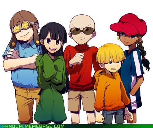 anime style cartoon network cartoons codename kids next door Fan Art - 6227239936