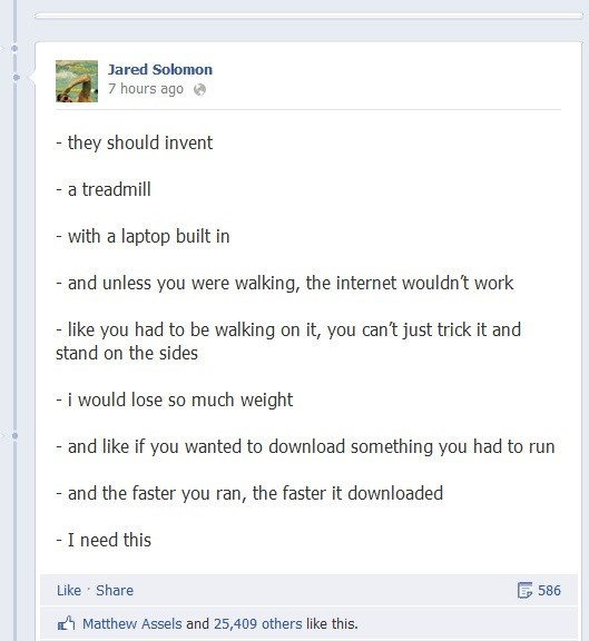 failbook,g rated,gym,idea,invent,invention,treadmill,working out