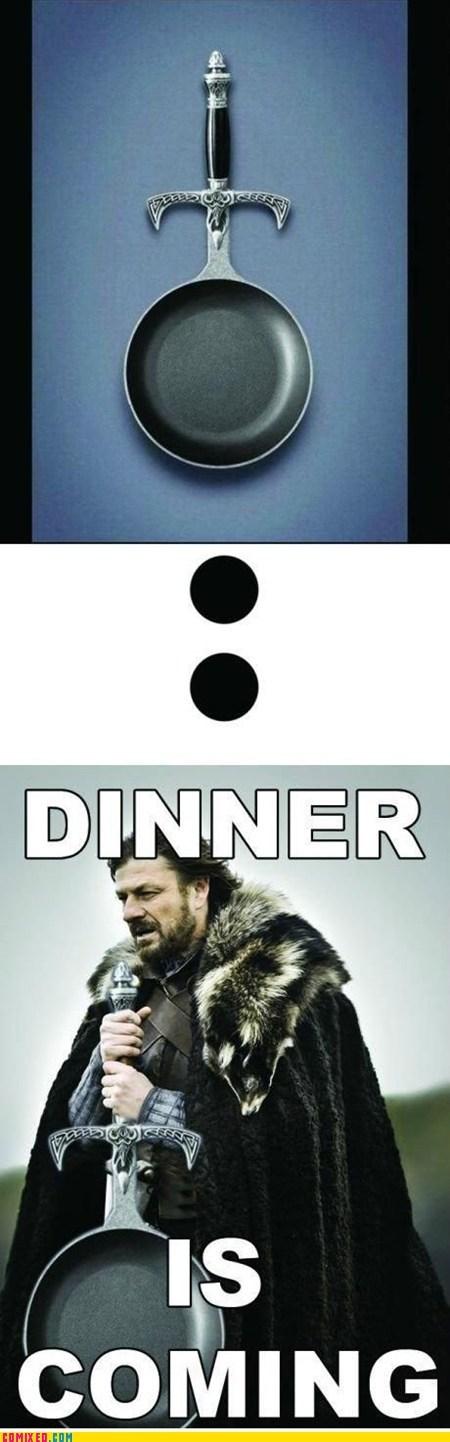 best of week Game of Thrones pan sword TV Winter Is Coming - 6227428096