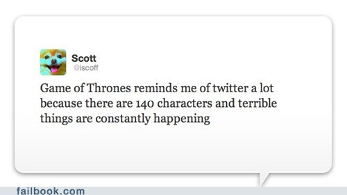 Game of Thrones television TV twitter - 6227548160