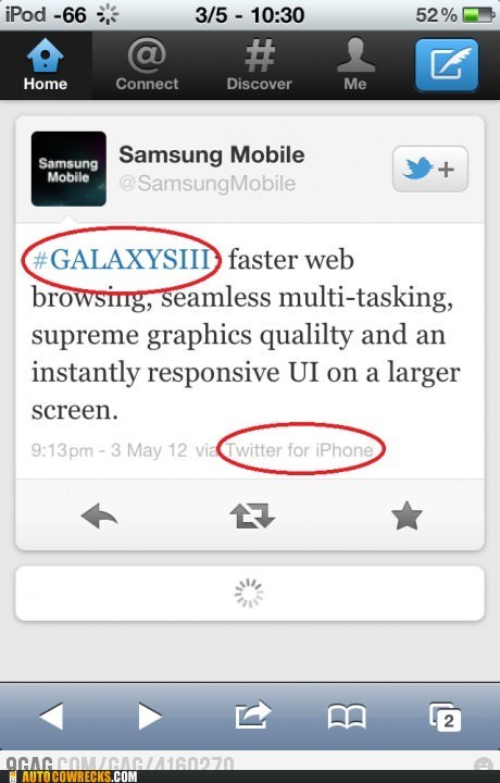 false advertising iphone samsung mobile - 6227617536