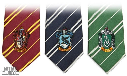 accessory Harry Potter nerdgasm style tie - 6227665152