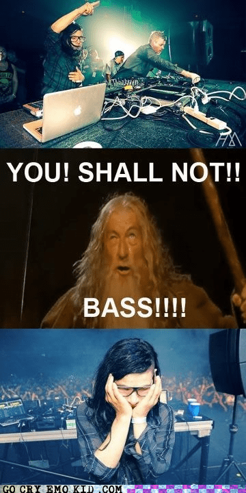dubstep,gandalf,skrillex,weird kid,wub,you shall not pass