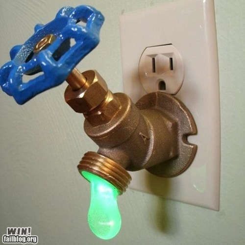 design,night light,ooze,valve