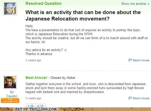 internment camps japanese japanese relocation Yahoo Answer Fai Yahoo Answer Fails - 6228268800