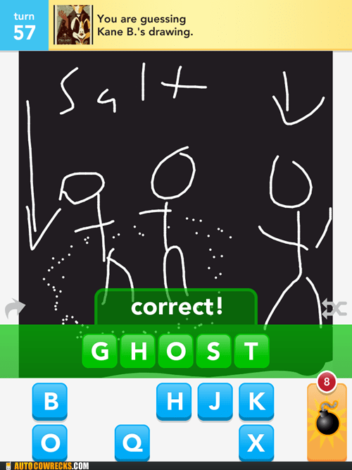 AutocoWrecks,draw something,g rated,ghosts,salt,Supernatural