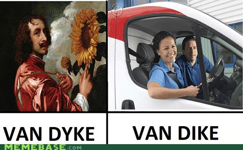 Memes thats-racist van van dyke - 6229780224
