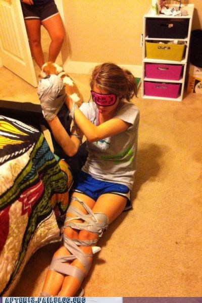 blindfold duct tape taped - 6229908992