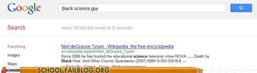 black science guy,google search,Neil deGrasse Tyson,scientists