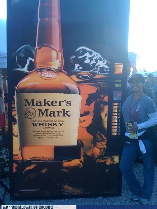 makers-mark,whiskey,vending machine,funny,after 12,g rated