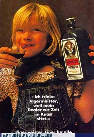 dealer drugs gtl jagermeister jail kids liver damage memory loss prison tanked toddlers