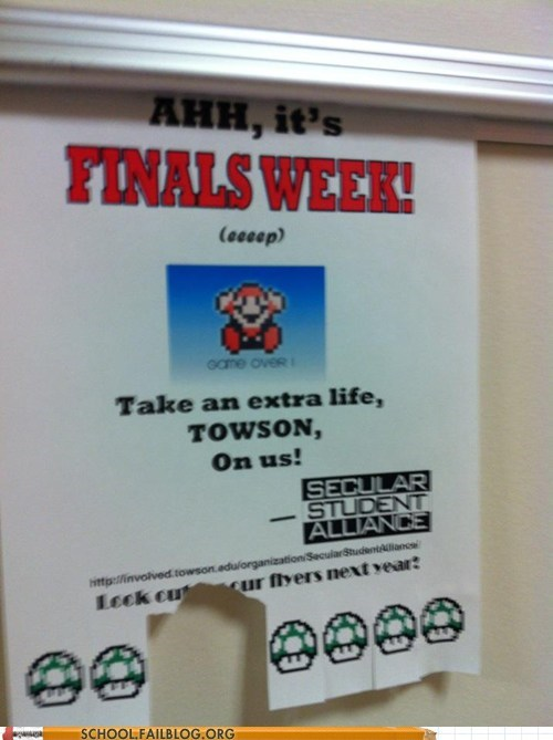 1up finals week Super Mario bros - 6230076928