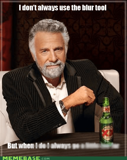 blur smooth the most interesting man in the world words - 6230137856
