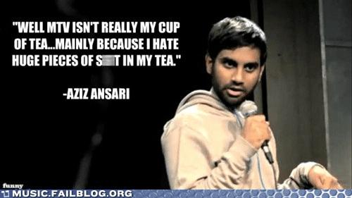 aziz ansari comedian comedy mtv tea - 6230221312