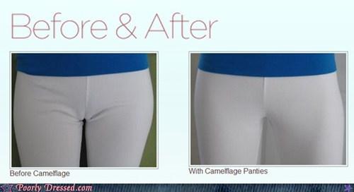 camel toe fashion emergency underwear - 6230467584