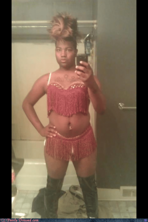bathroom pic cross dressing mirror pic tassels - 6230483200