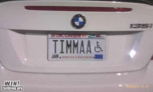 disabled license plate South Park timmy - 6230594304