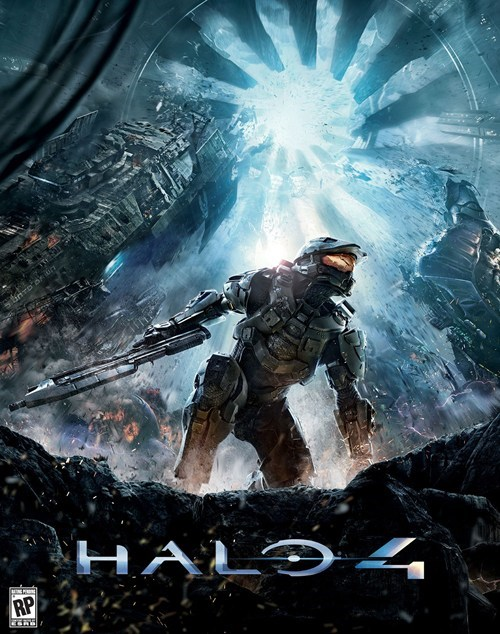 box art cover art Halo 4 master chief - 6230811648